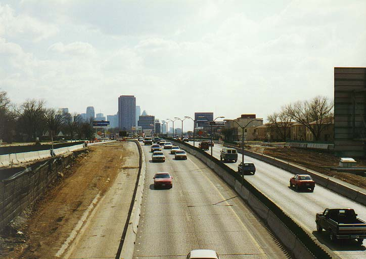 Dallas 96 - east to the campus; Central Expwy