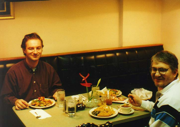 Dallas 96 - a lunch in an Indian restaurant