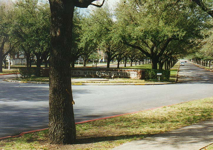 Dallas 96 - SMU campus