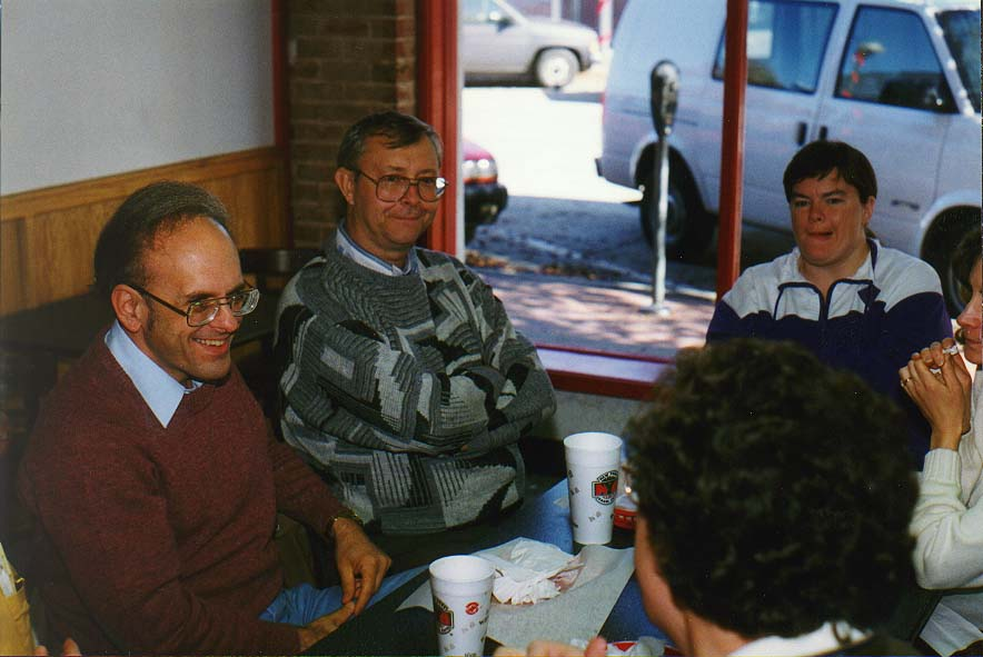 Norman, Wichita Mountains  - a lunch 11/24/96