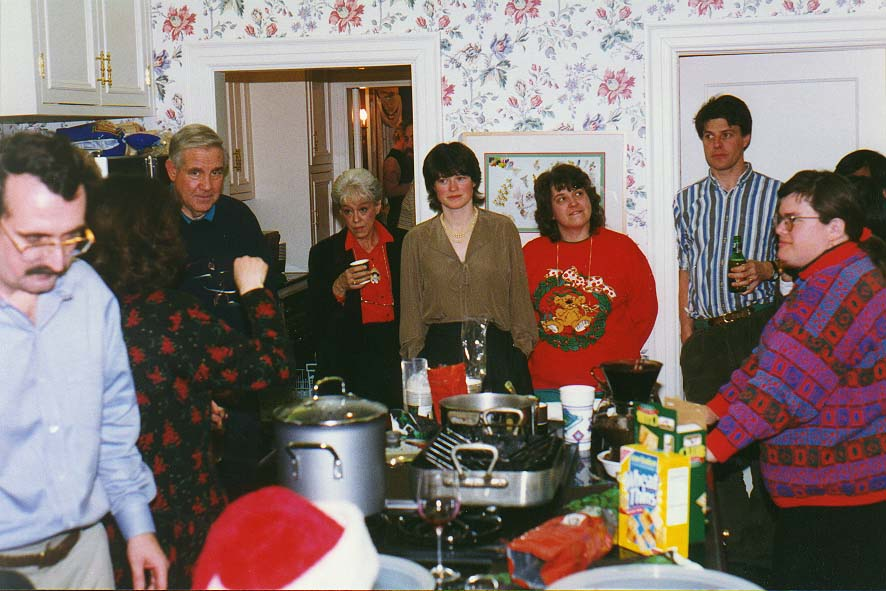 Norman  - Christmas party in Oklahoma City