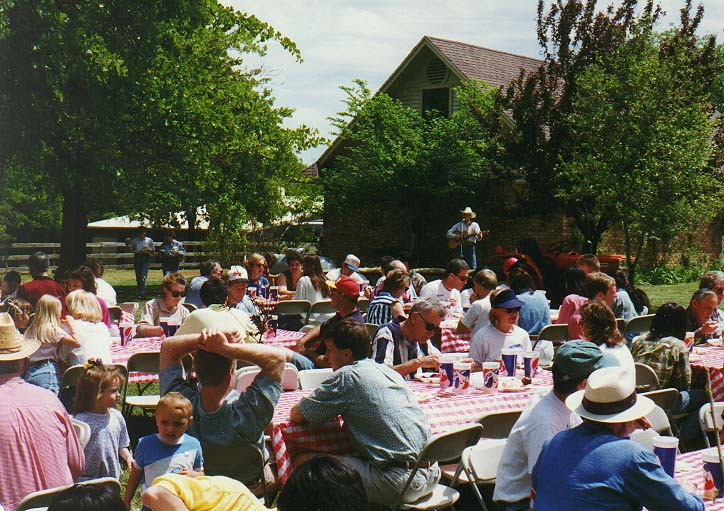 Dallas and a trip to San Francisco 96 - ranch party near Lake Lewisville