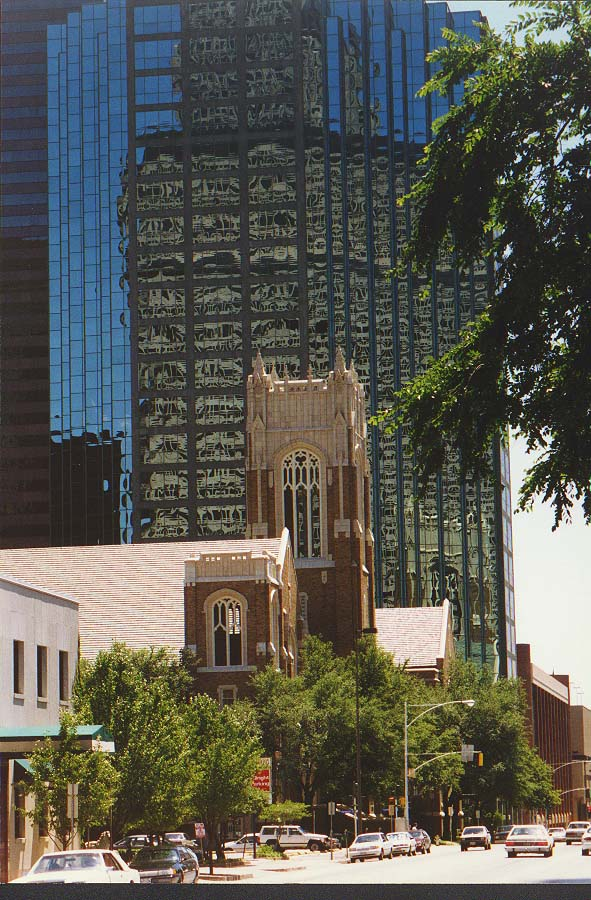 Dallas 96 - downtown Dallas, 6/15/96