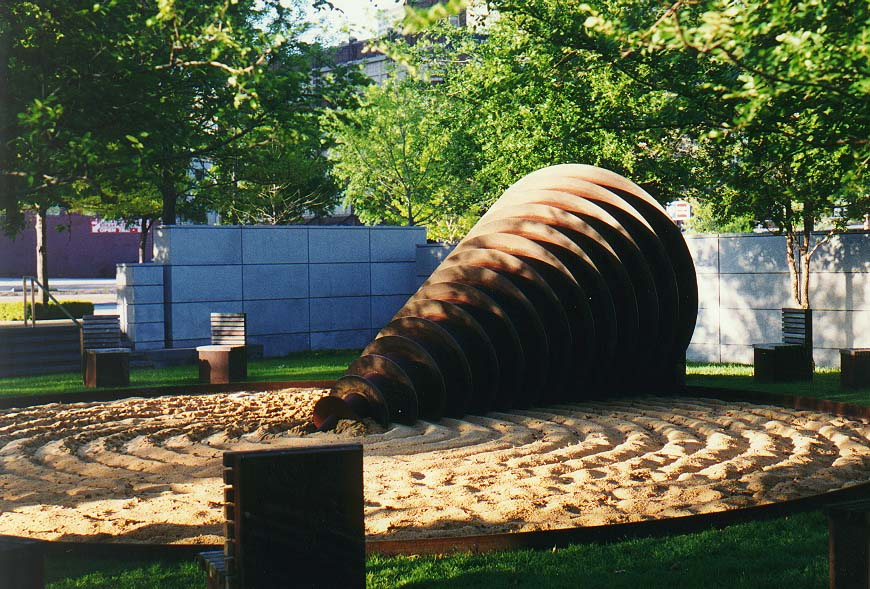 Texas Hill Country, Dallas  - downtown Dallas 4/5/97