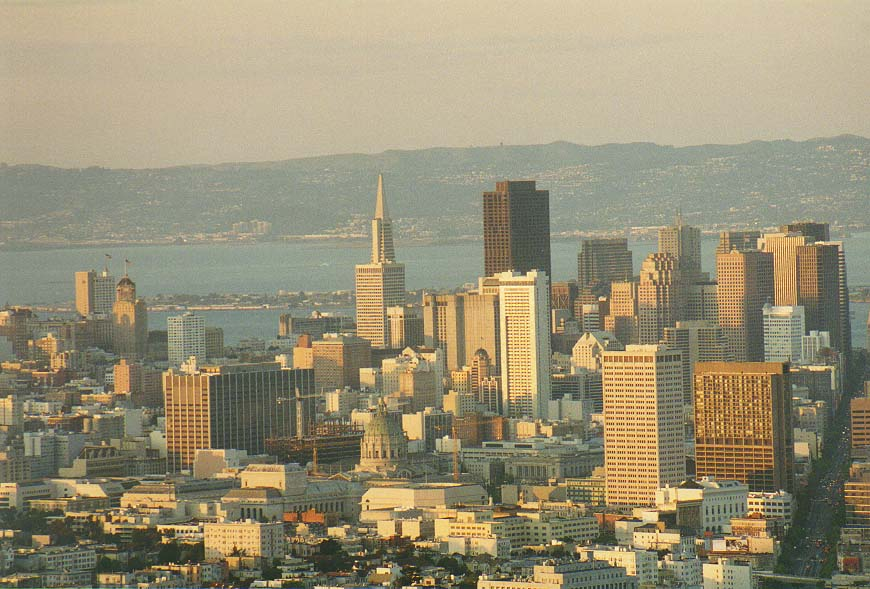 Saturday in San Francisco: views from Telegraph...Japan Tea Garden, views from Twin Peaks