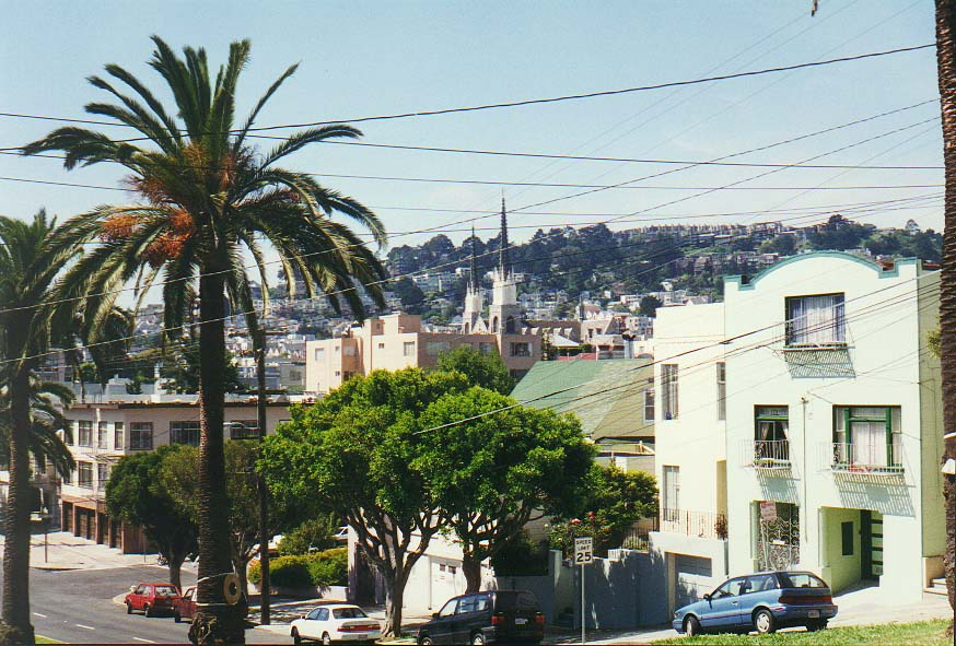 San  - Dolores Street and Mission