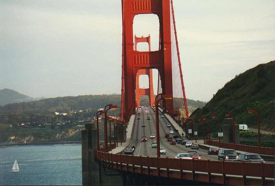 San  - views from Golden Gate Bridge