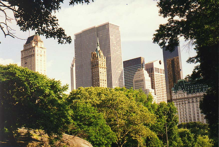 New York  - 5th Ave., Central Park, Broadway