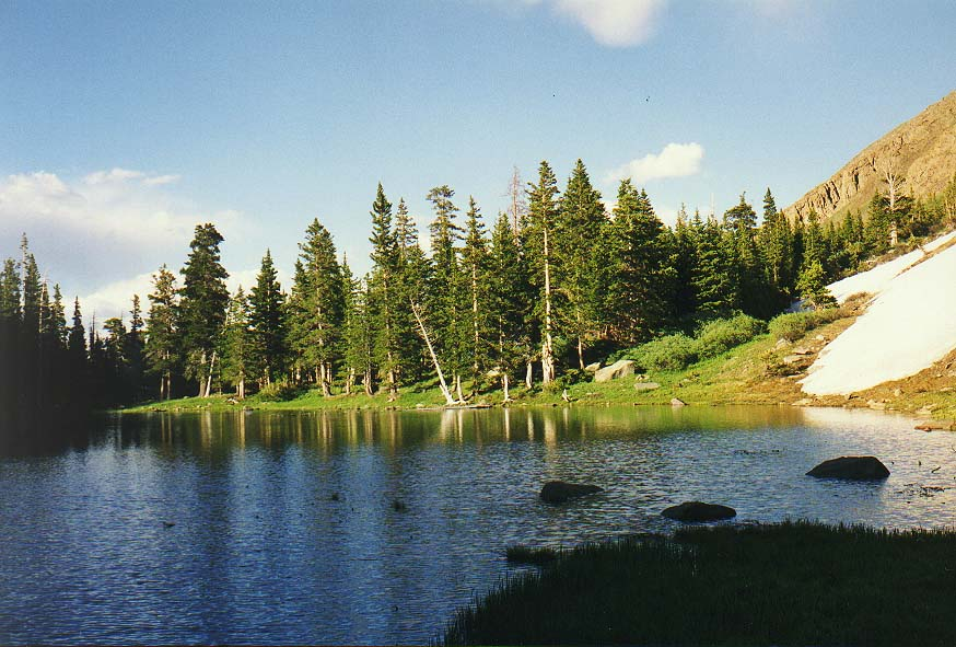 Colorado Mountains - Dallas  - Goodwin lakes 7/5/97