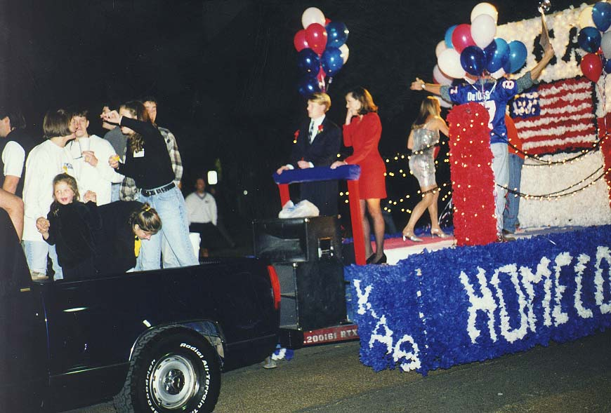 Caprock Canyons State Park-Dallas  - Homecoming parade in SMU