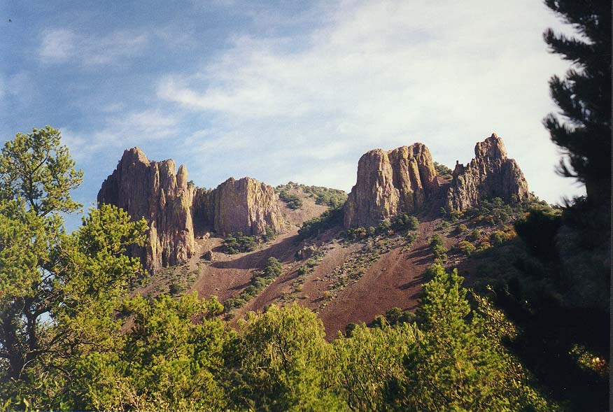 A trip to Big Bend Park morning and day - Pinnacles trail