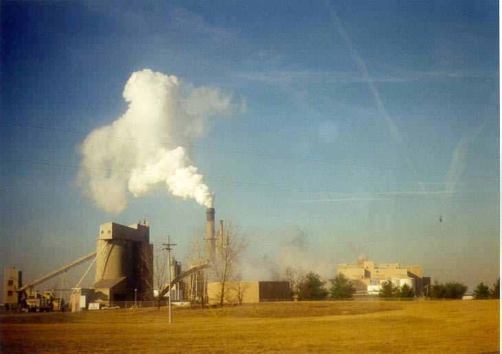 View of Fairfield and Alcoa plants from S. R. 52. Lafayette, Indiana
