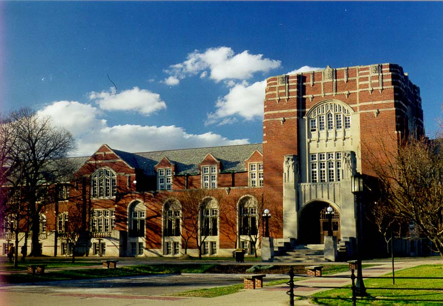 Purdue Memorial Union (student services). West Lafayette, Indiana