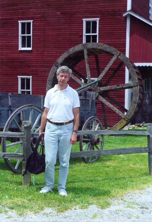 A.S. at Adams Mill (a big wheel is a decoration, it never worked there). Indiana