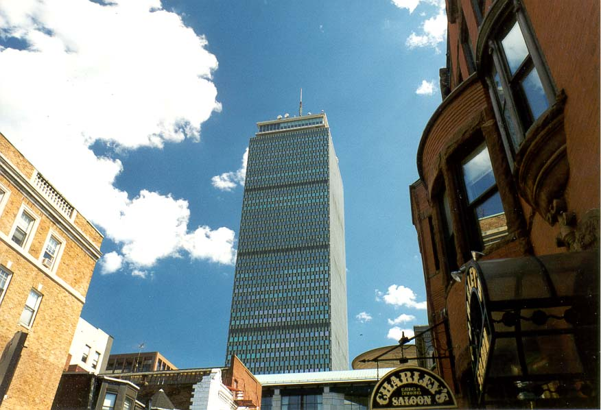 Boston  - Prudential Tower in Boston MA