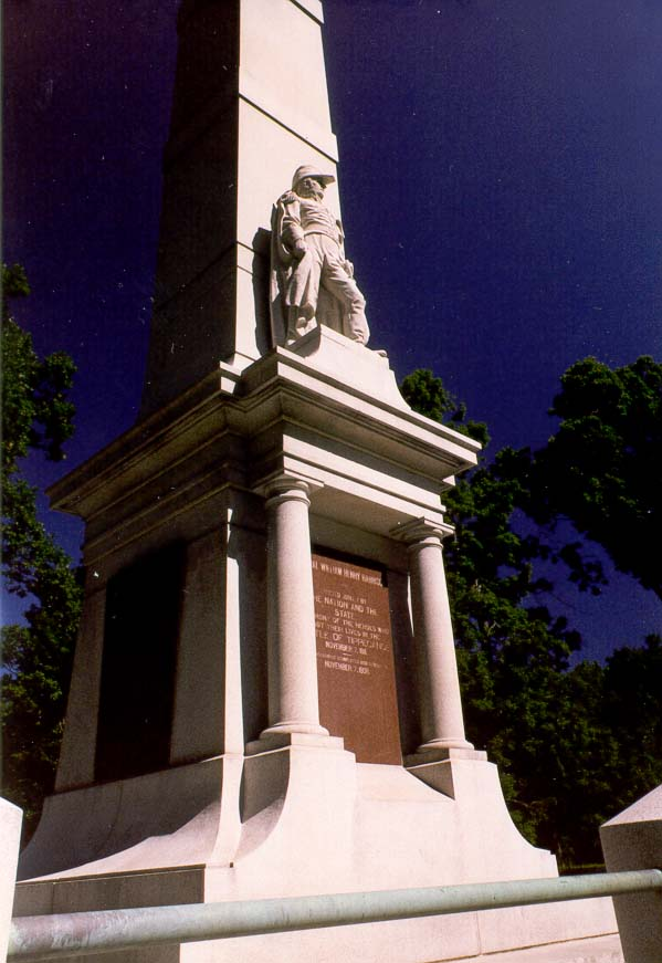 A monument to gen. W. H. Harrison (built in 1908...Battle Ground near Lafayette IN