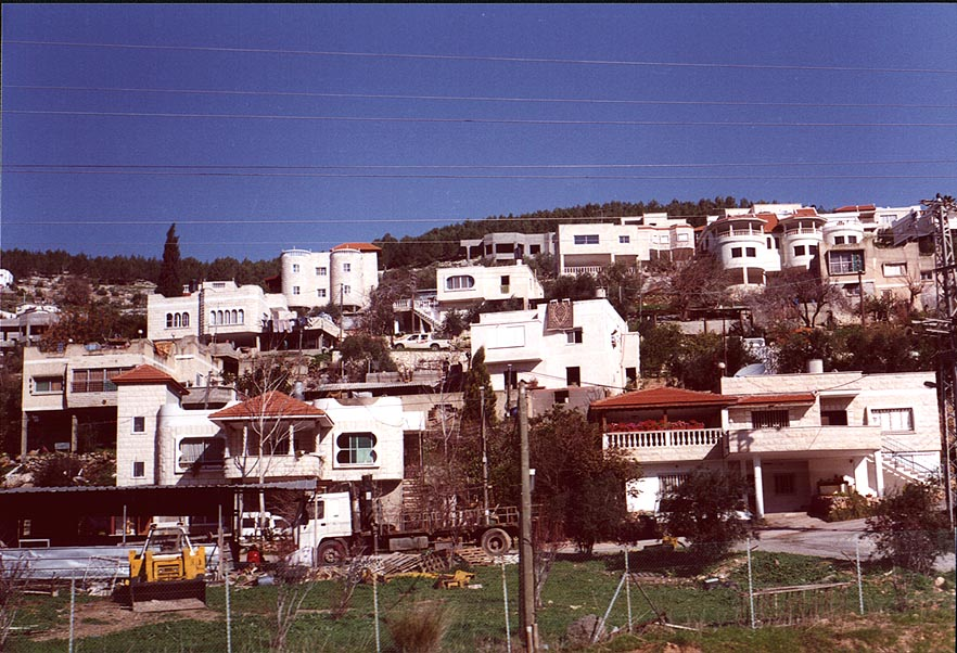 An Arab village Kfar Kara?, near Umm El Fahm. The Middle East
