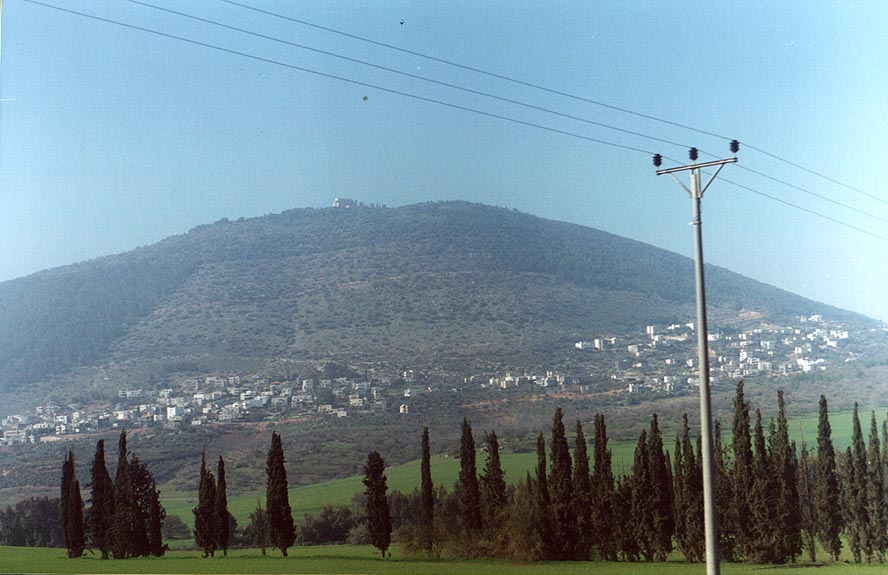Beer-Sheva and north of Israel  - Mount Tabor The Middle East