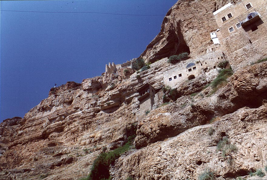 St.George Monastery, near Jericho. The Middle East