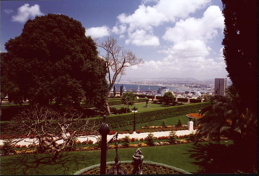 Caesarea - Haifa  - Bahai garden in Haifa. The Middle East