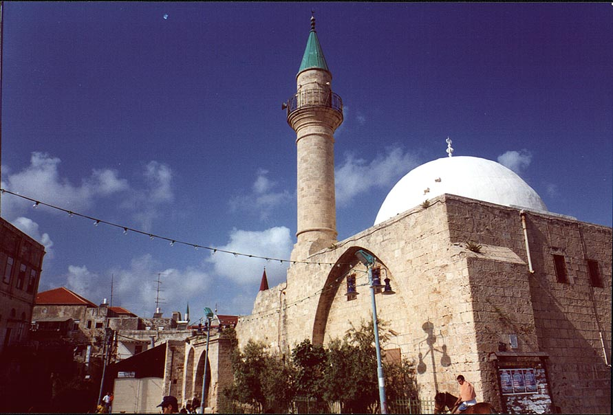 A mosque in Old City of Akko. The Middle East