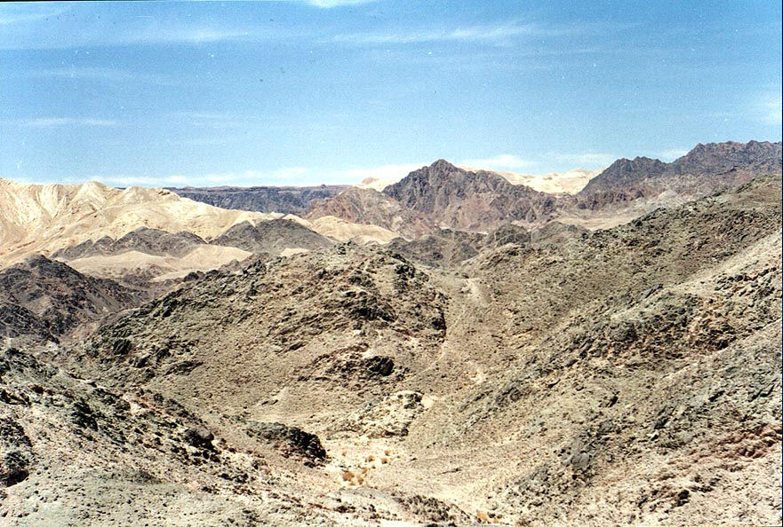 Eilat, Omer, Ein Bokek  - Mountains near Eilat. The Middle East
