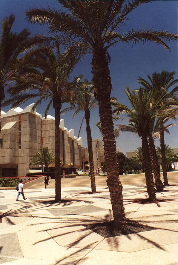 Longest day of the year in University of the...of Aliya. Beer-Sheva, the Middle East