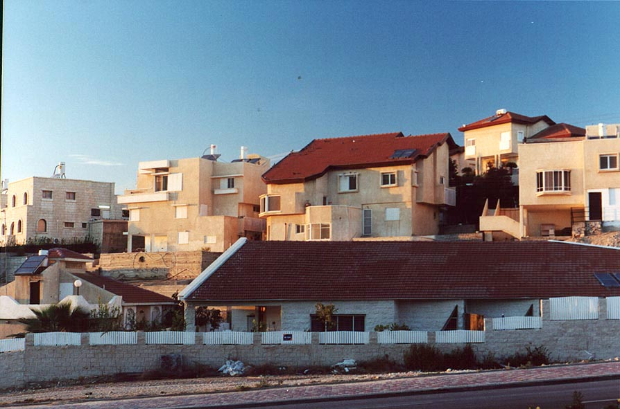 Ramot Quarter in northern Beer-Sheva at evening. The Middle East