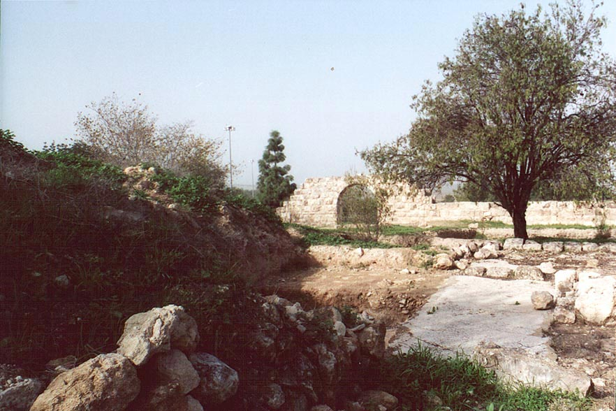 Latrun, ruins of Emmaus. The Middle East