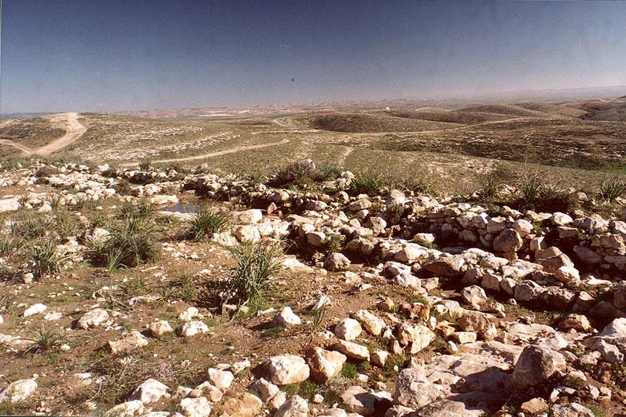 Unexplored ancient city known only by Bedouins on...north from Beer-Sheva. The Middle East