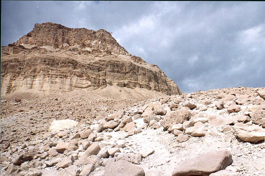Maale Bokek Ascent from Ein Bokek. The Middle East