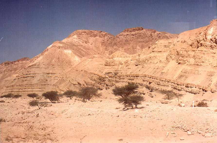 Timna Park, morning of  - View from Arava Rd.. The Middle East
