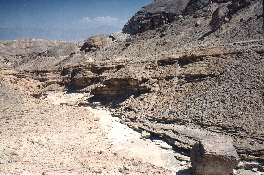 Southern tributary of Netafim River , 3 miles north-west from Eilat. The Middle East