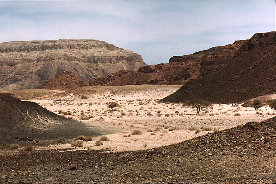 View to the north from the entrance to Timna Park. The Middle East