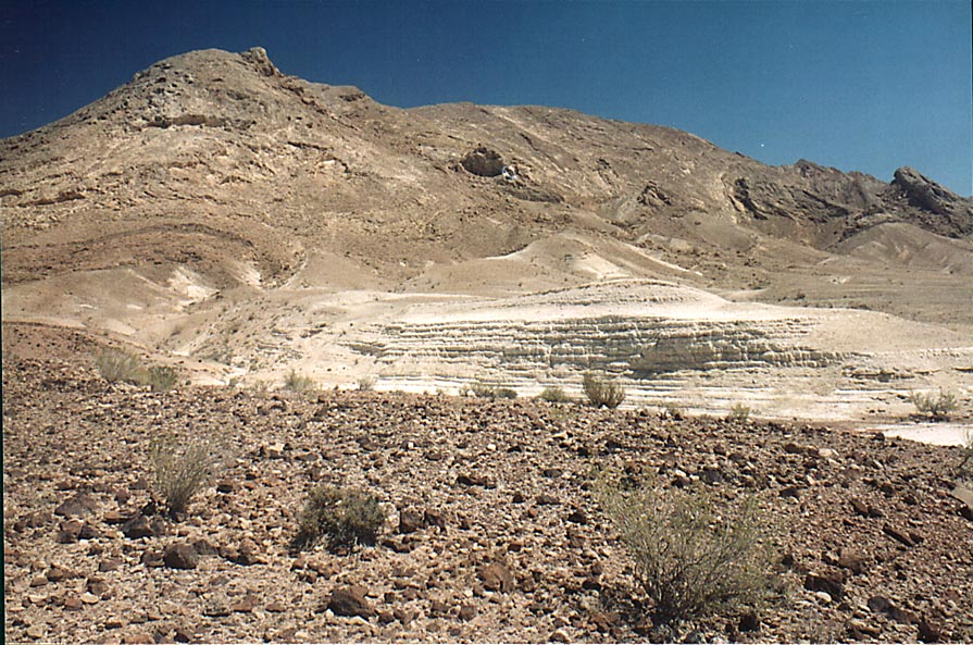 Southern side of Ramon Crater, 6 miles south-east from Mitzpe Ramon. The Middle East