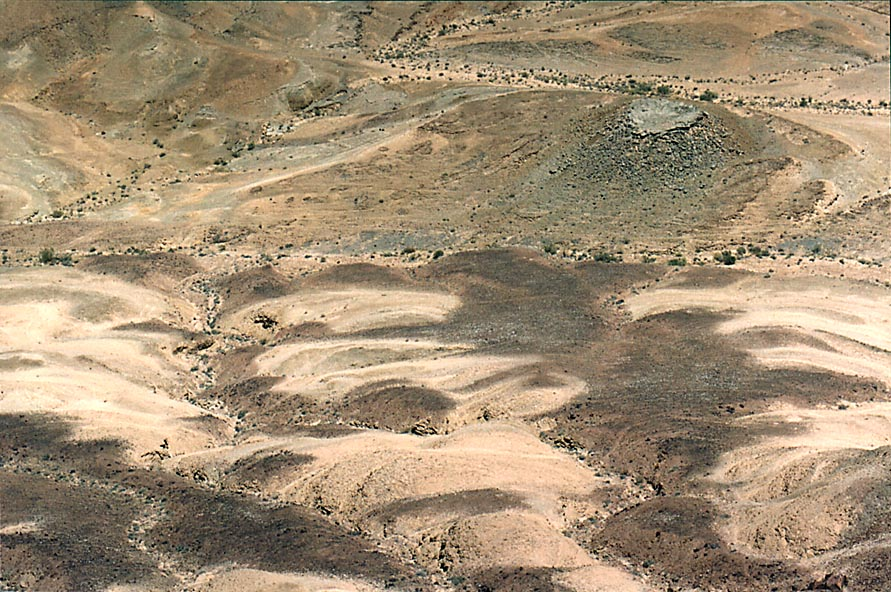 Ramon Crater to the north from Ramon's Tooth, 5...from Mitzpe Ramon. The Middle East