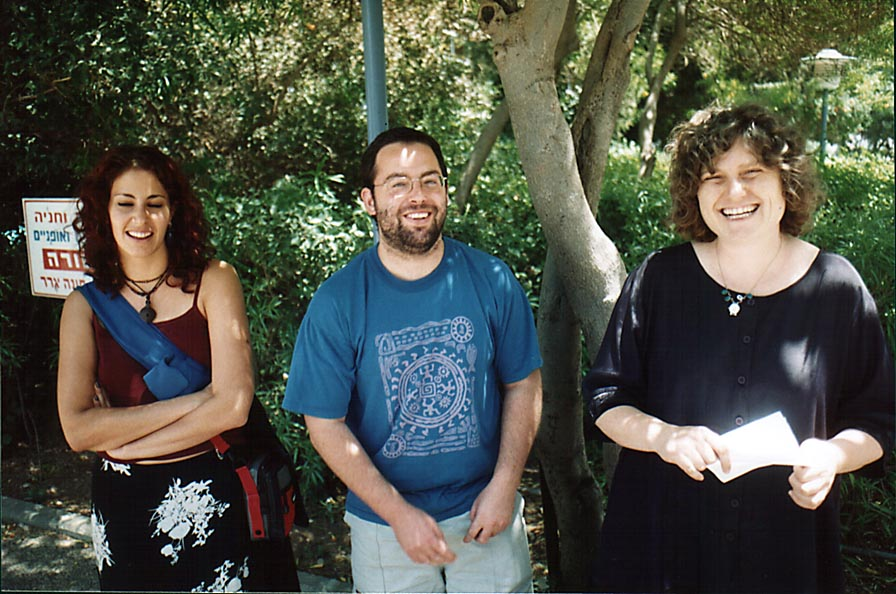 Sharona Shemtovs, Shimshon Kallush, and Bilha...of Technion. Haifa, the Middle East