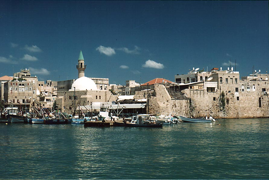 Fisherman's Wharf and south-eastern part of Old...Akko restaurant). The Middle East