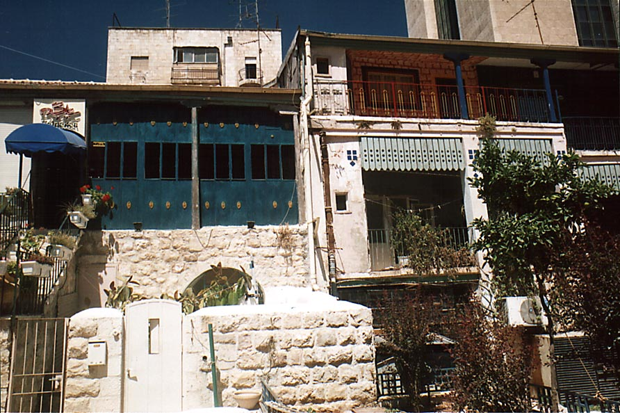Nahalat Shiva St.. Jerusalem, the Middle East