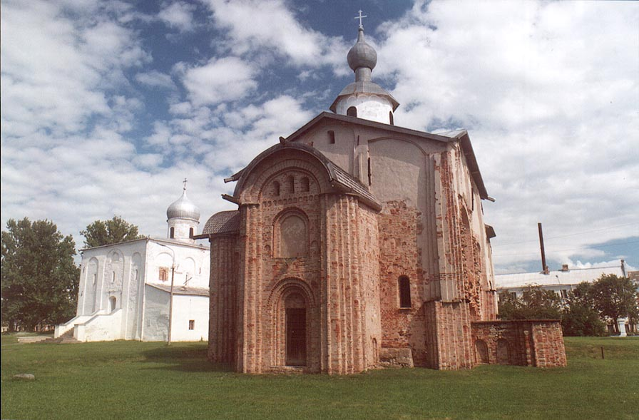 Church of St.Paraskevy Pyatnicy in Gorodishche Area. Novgorod, Russia
