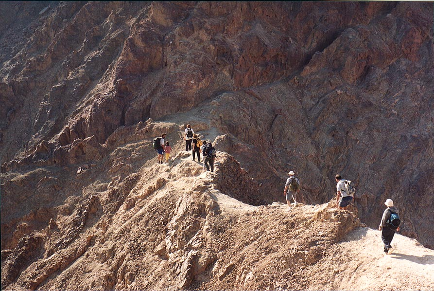 A ridge 0.5 miles north from Mount Shelomo, 3 miles north-west from Eilat. The Middle East