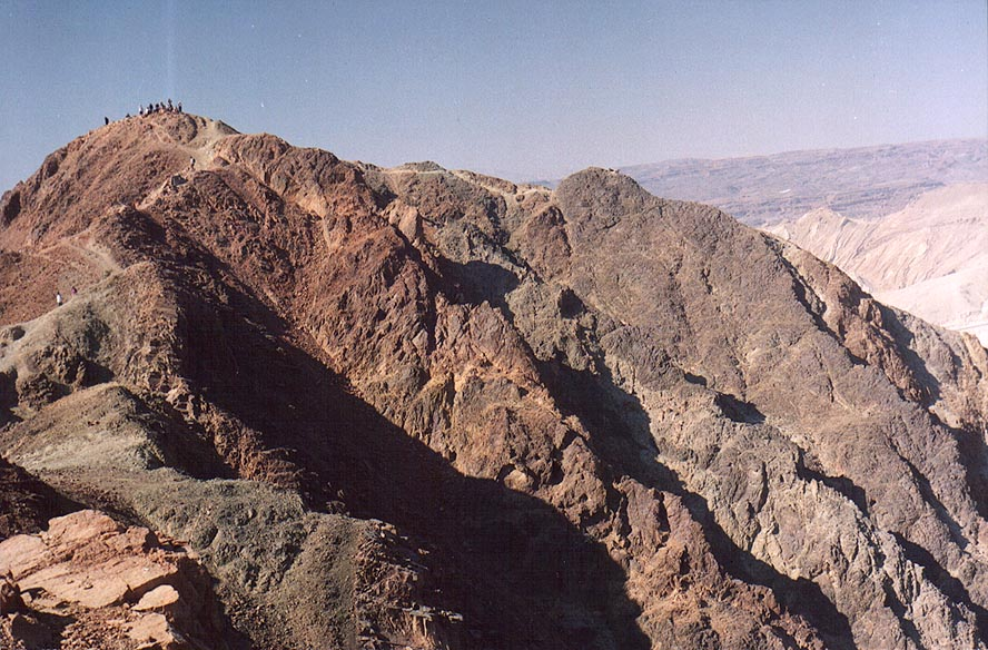 Northern peak of Mount Shelomo, 2.5 miles north-west from Eilat. The Middle East