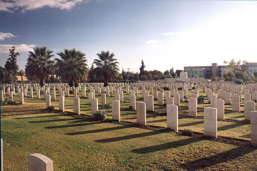 British World War II cemetery. Beer-Sheva, the Middle East