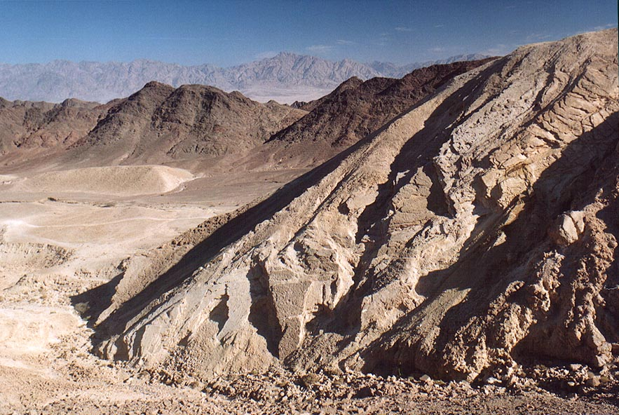 View from Byzantine quarries of Boded (Lost) City...north-west from Eilat. The Middle East