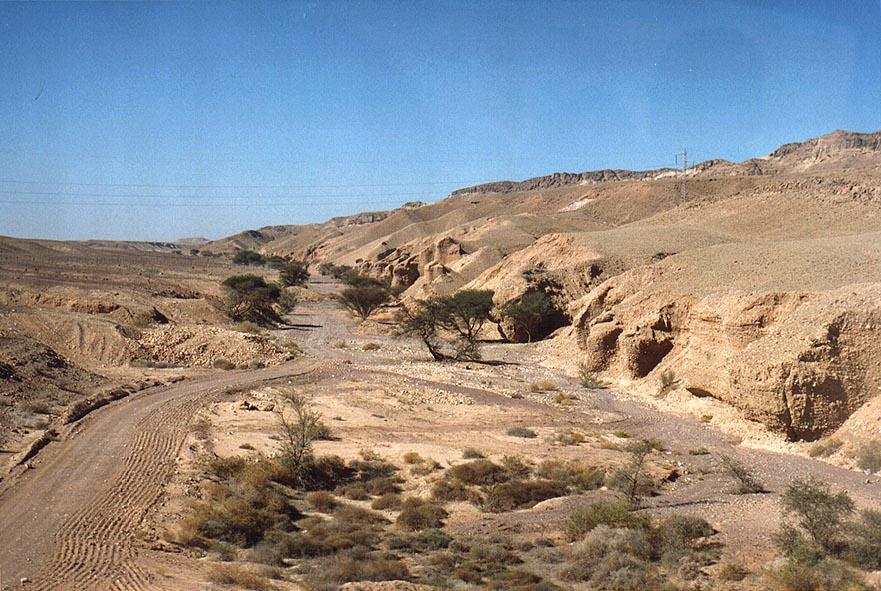 Somewhere south from Ramon Crater, view from Rd. 40 or 12 to Eilat. The Middle East