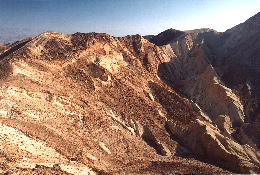 View to the south near Bulbusei Gir, 3 miles south-west from Eilat. The Middle East