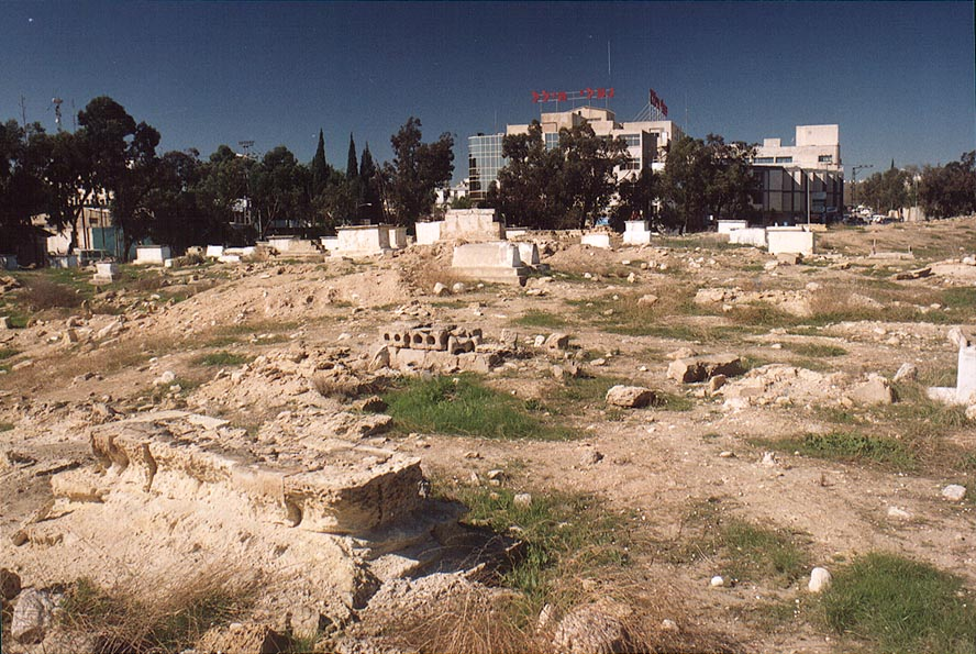 Muslim cemetery in Beer-Sheva. The Middle East