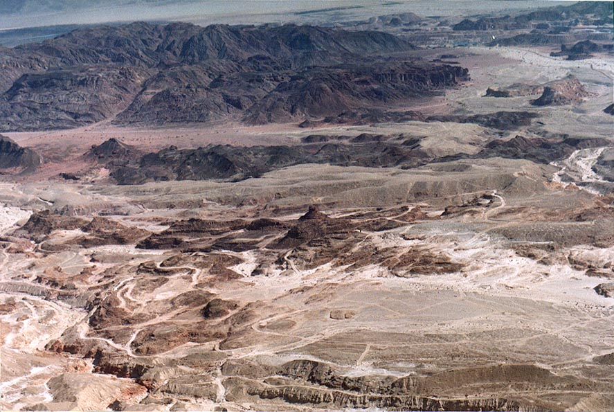 View of an area of Spiral Hill in Timna Park...north from Eilat. The Middle East