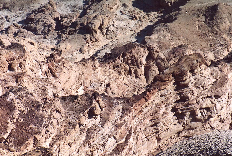Upper terraces of Tsukei Timna (Timna Cliffs), 16 miles north from Eilat. The Middle East