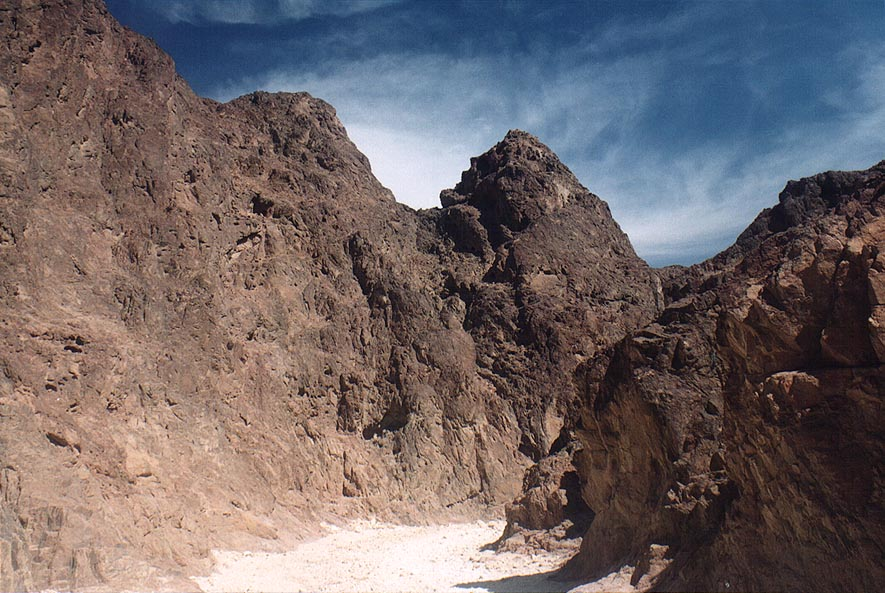 Granites of Shehoret canyon 4 miles north from Eilat. The Middle East